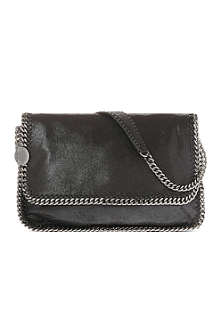 STELLA MCCARTNEY Falabella faux-suede messenger bag