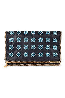 STELLA MCCARTNEY Falabella jewel clutch