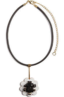 MARNI Lazer flower small necklace