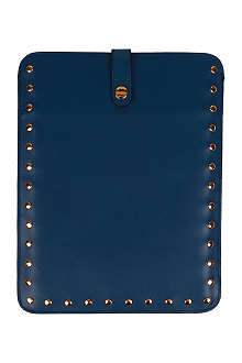 MARNI Studded leather iPad case