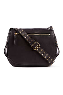 MARNI Studded saddle bag