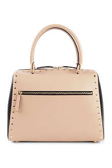 MARNI Studded bi-coloured tote
