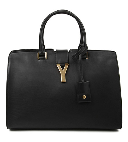 SAINT LAURENT Cabas Chyc medium tote (Noir