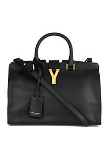 SAINT LAURENT Chyc cabas small cross-body bag