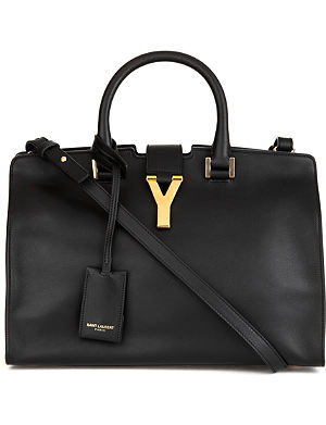 SAINT LAURENT Cabas Chyc small cross-body bag