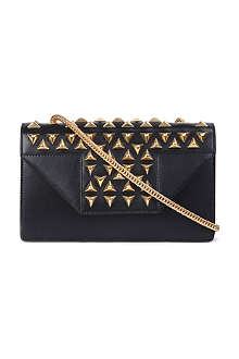SAINT LAURENT Betty mini studded shoulder bag