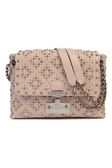 MARC JACOBS Baroque Single large studded shoulder bag