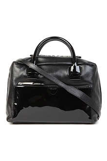MARC JACOBS Antonia patent leather tote