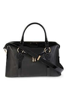 MARC JACOBS Wellington leather tote