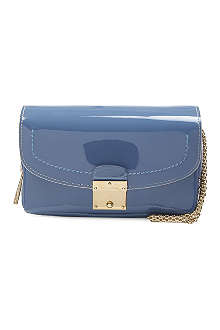 MARC JACOBS Bijoux patent leather clutch