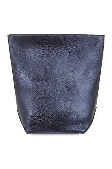 JIL SANDER Lunch metallic pouch