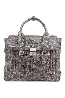 3.1 PHILLIP LIM Pashli medium textured leather satchel