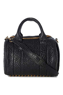 ALEXANDER WANG Rockie Dumbo pebbled leather mini bag