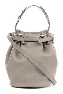 ALEXANDER WANG Diego soft leather bucket bag with gold hardware