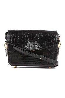 ALEXANDER WANG Mock-croc leather shoulder bag