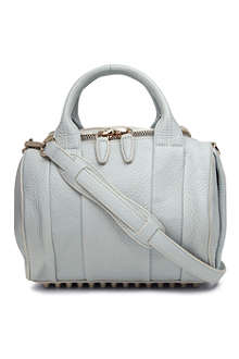 ALEXANDER WANG Rockie Dumbo mini pebbled-leather bowling bag