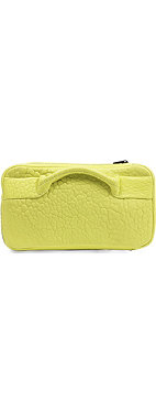 ALEXANDER WANG Dumbo pebbled leather clutch