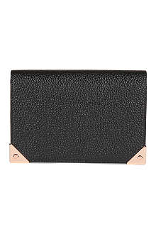 ALEXANDER WANG Prisma Biker textured leather purse