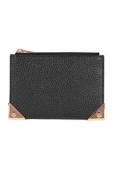 ALEXANDER WANG Prisma textured leather coin purse