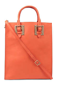 SOPHIE HULME Double plate buckle tote