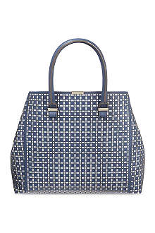 VICTORIA BECKHAM Liberty perforated leather tote