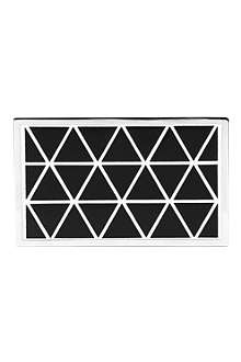 VICTORIA BECKHAM Hard metal clutch bag