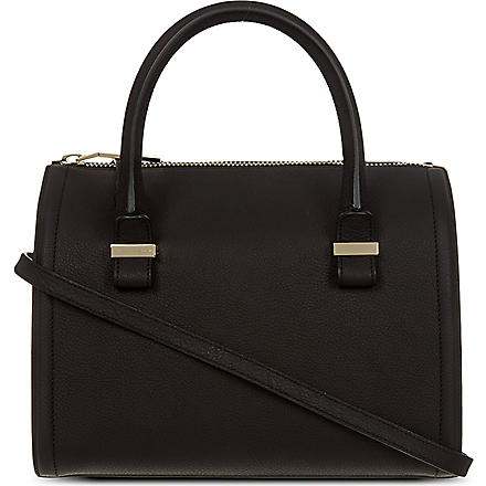 VICTORIA BECKHAM Seven leather tote (Black