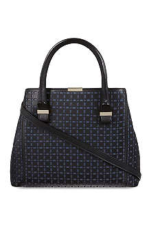 VICTORIA BECKHAM Quincy perforated tote bag