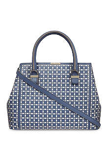 VICTORIA BECKHAM Quincy perforated leather bag