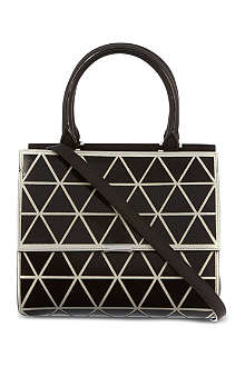 VICTORIA BECKHAM Triangle mini tote bag