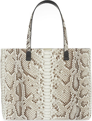 VICTORIA BECKHAM Simple python shopper