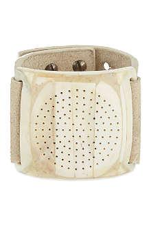 RICK OWENS Bone dieter disk bracelet