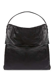 RICK OWENS Large leather hobo