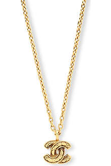 SUSAN CAPLAN VINTAGE Chanel pendant necklace