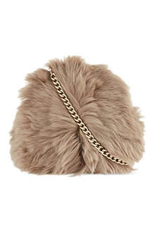 SIMONE ROCHA Medium sheepkin shoulder bag