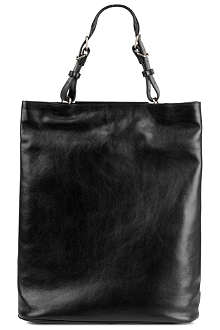 A.F.VANDEVORST Shiny leather shopper