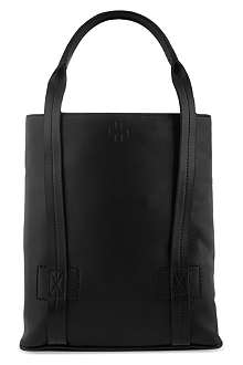 A.F.VANDEVORST Cross-embossed leather small tote
