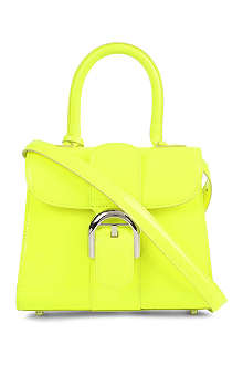 DELVAUX Brilliant mini box calf leather tote