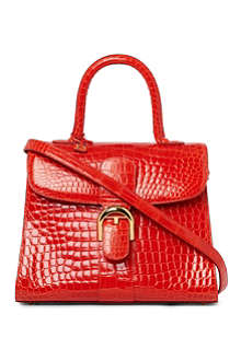 DELVAUX Brillant alligator medium tote