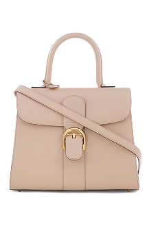 DELVAUX Brillant Moyen box tote bag