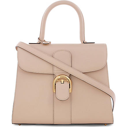 DELVAUX Brillant Moyen box tote bag (Powder