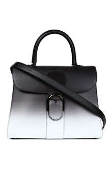 DELVAUX Brillant GM box ombré tote bag