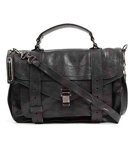 PROENZA SCHOULER PS1 medium satchel (Black