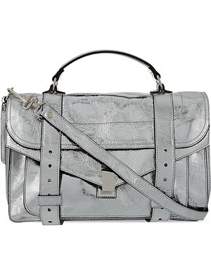 PROENZA SCHOULER Metallic leather satchel