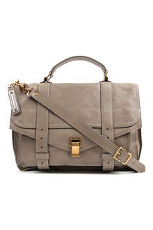 PROENZA SCHOULER PS1 large leather satchel