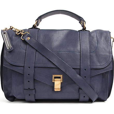 PROENZA SCHOULER PS1 large satchel (Midnight