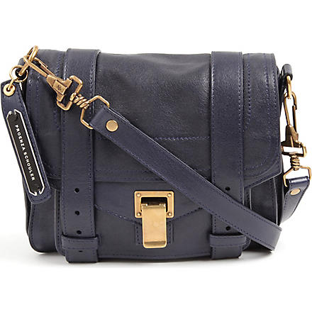PROENZA SCHOULER PS1 across-body pouch bag (Midnight