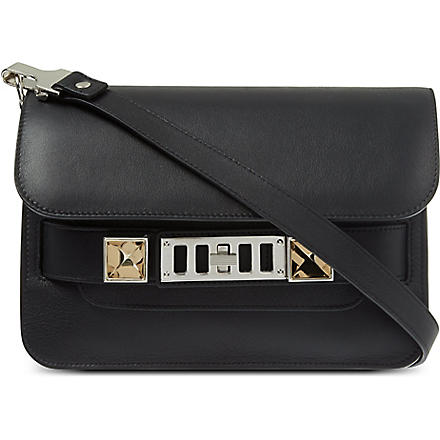 PROENZA SCHOULER PS11 mini leather shoulder bag (Black