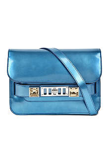 PROENZA SCHOULER PS11 dome mirrored leather shoulder bag