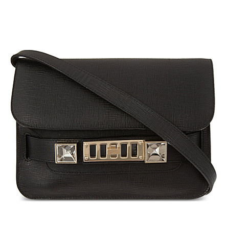 PROENZA SCHOULER PS11 Mini Classic Linosa cross-body bag (Black